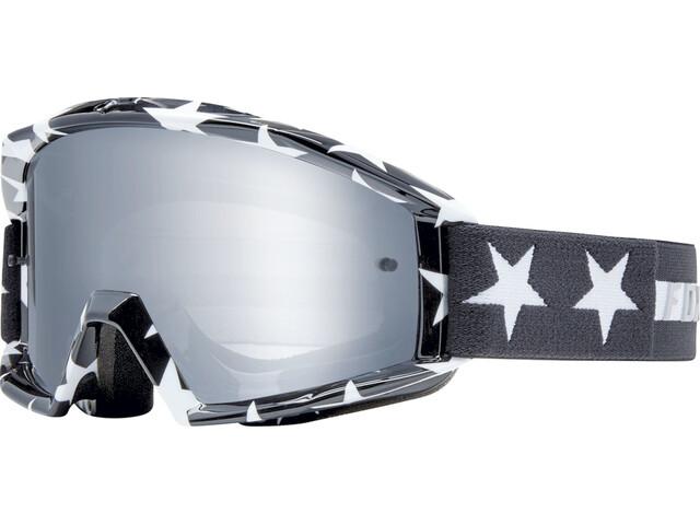 Fox Main Stripe Laskettelulasit, black/white